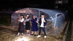 月夜の農業クラブ